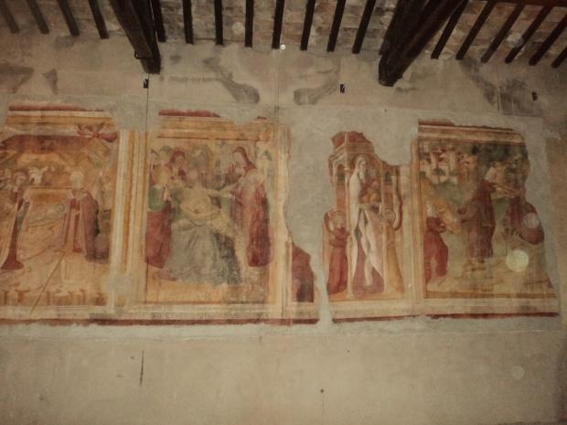 Affreschi chiesa di San Pietro