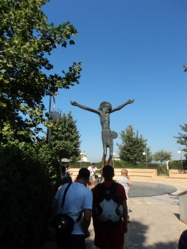 Statua Cristo Risorto di bronzo