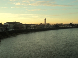 Fiume Adige e Verona