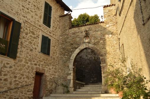 Affile - Porta Santa Croce