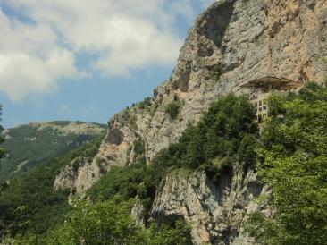 Panoramica sul Colle della Tagliata