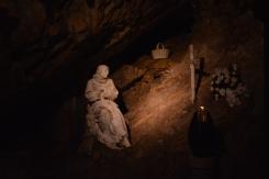 La grotta dove visse da eremita San Benedetto
