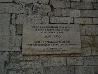 Targa S. Francesco