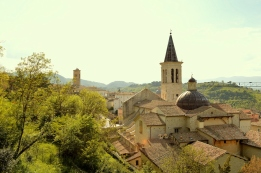 Panoramica su Spoleto