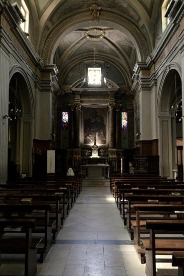 Interno della Chiesa S. Maria