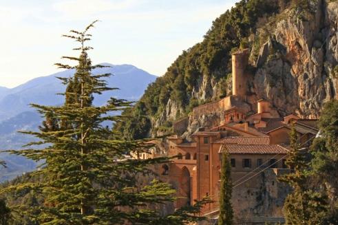 Vista sul monastero