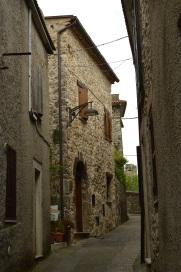 Scorcio di Vico nel Lazio