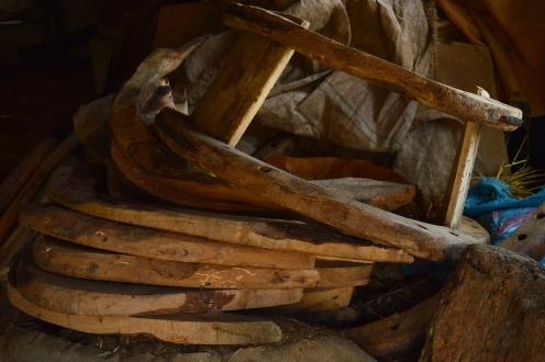 Arcioni e strutture in legno