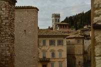 Panoramica su Assisi