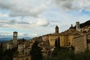 Panoramica di Assisi
