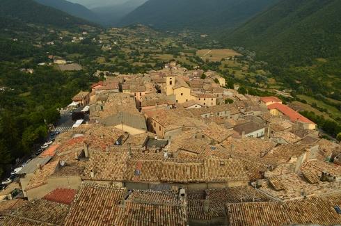 Panorama dal Castello Caetani