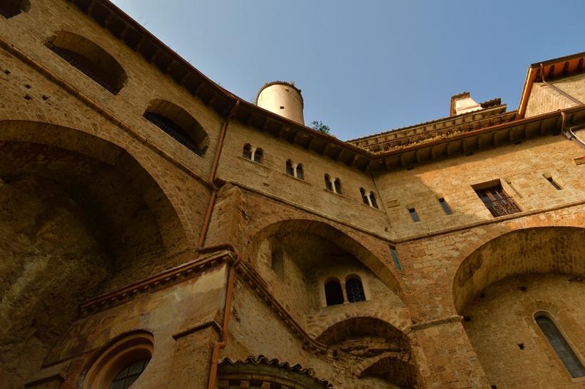 Monastero di San Benedetto - Vista dal roseto