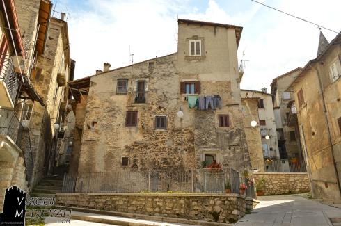 Scorcio del borgo di Scanno